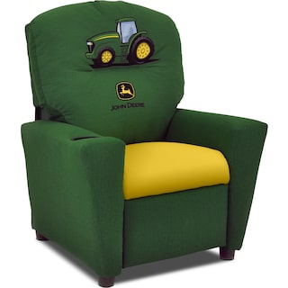 John Deere Child's Recliner - Green