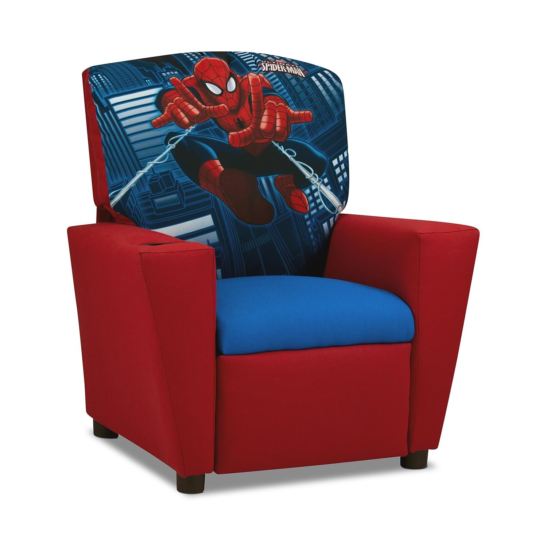 Spider-Man Child's Recliner - Red