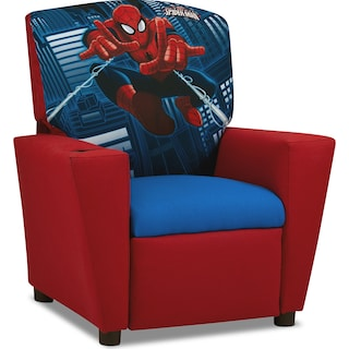Spider-Man Child's Recliner - Red