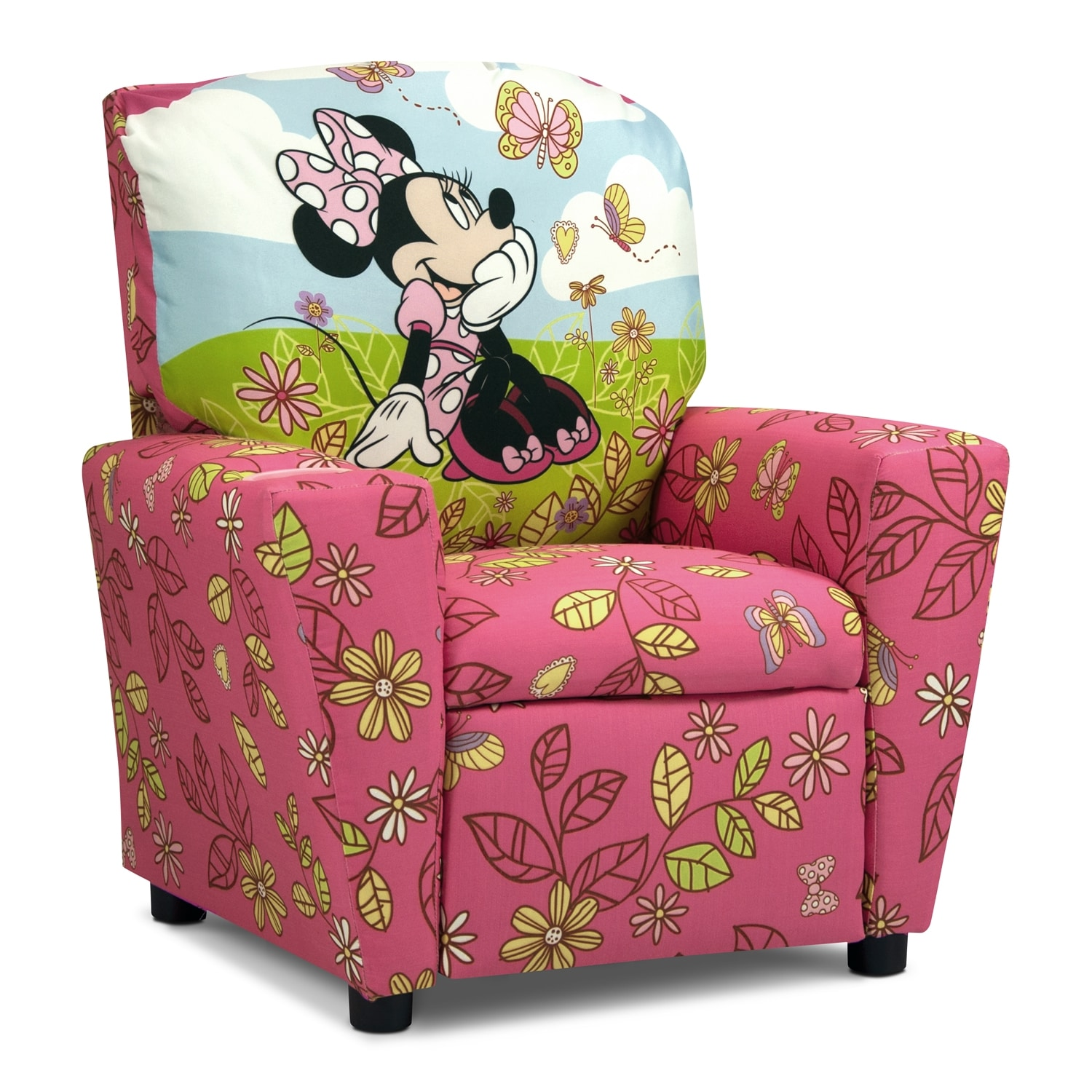 Minnie Mouse Child s Recliner Pink