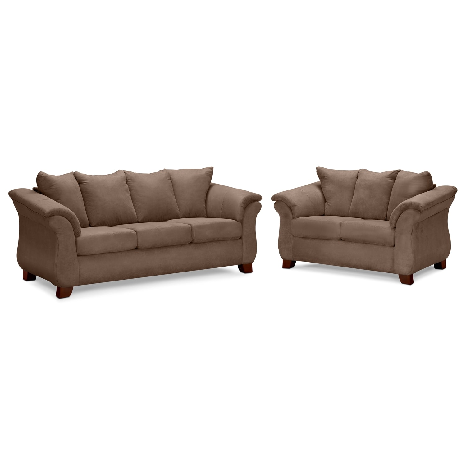 Adrian Taupe 2 Pc. Living Room