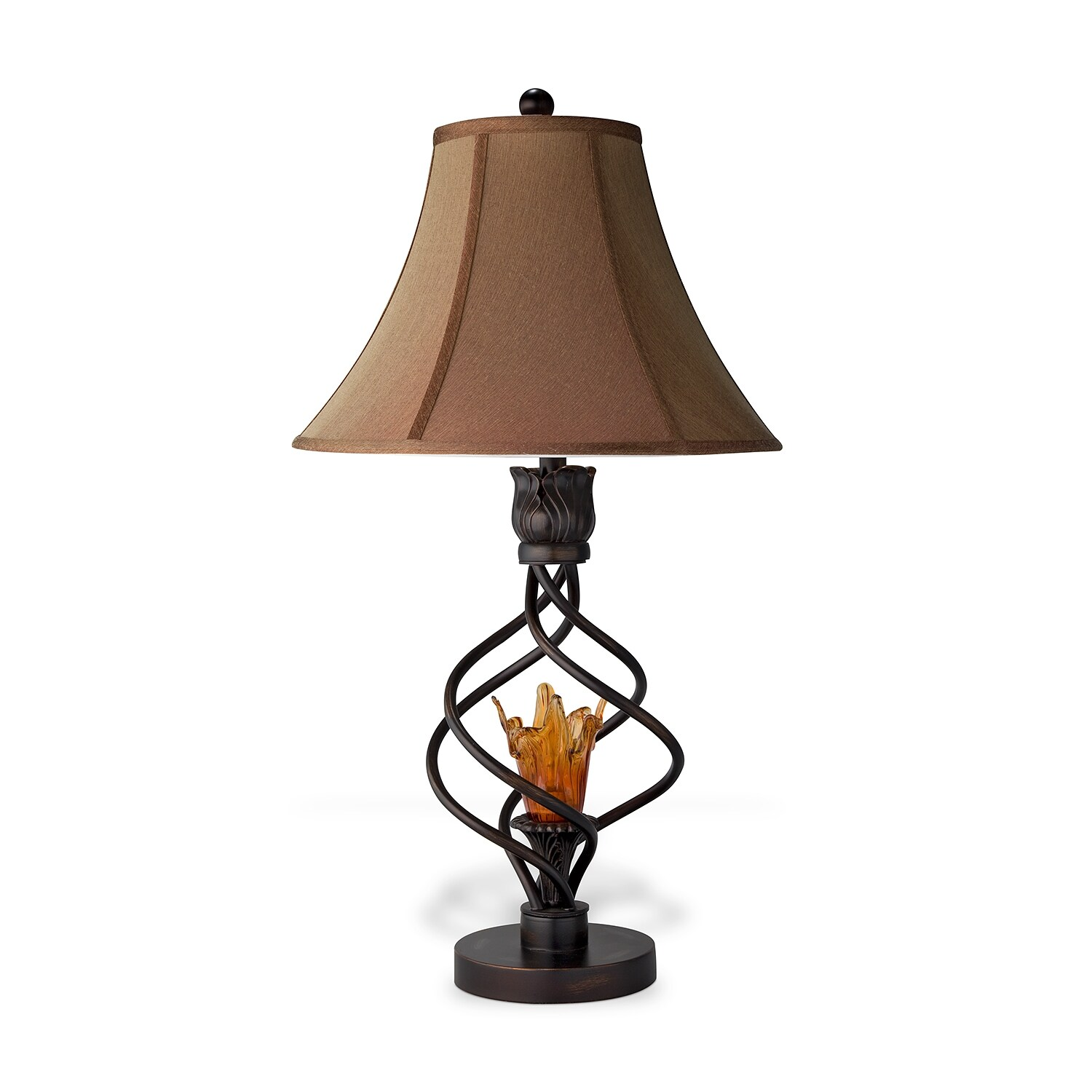 Home Accessories - Fire Light Table Lamp