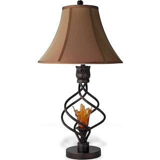 Accent lighting floor table lamps value city furniture and fire light table lamp aloadofball Images