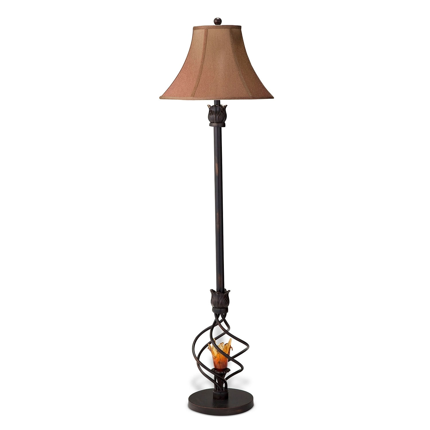 Fire Light Floor Lamp