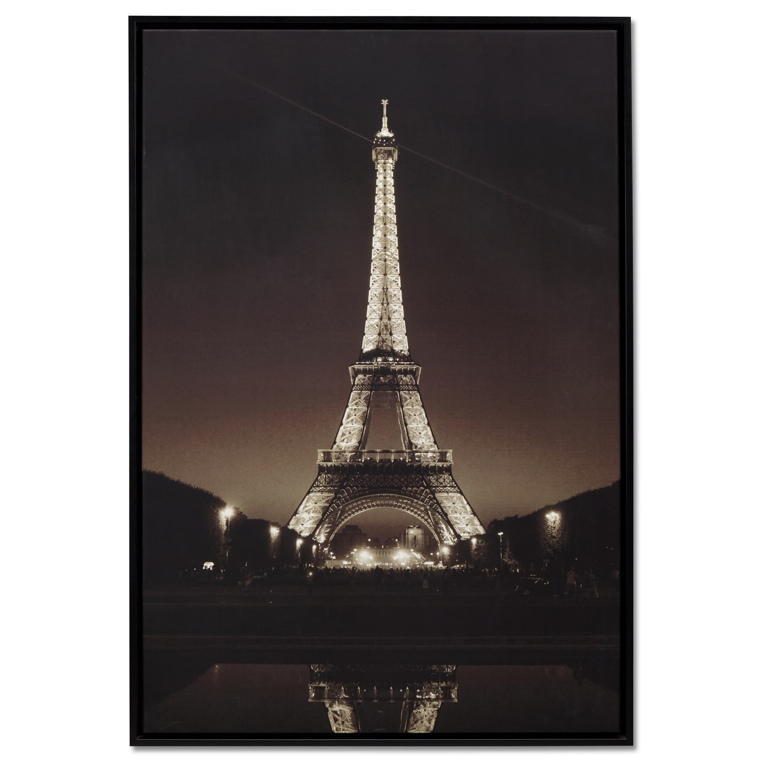 Eiffel Tower Framed Print Value City Furniture And