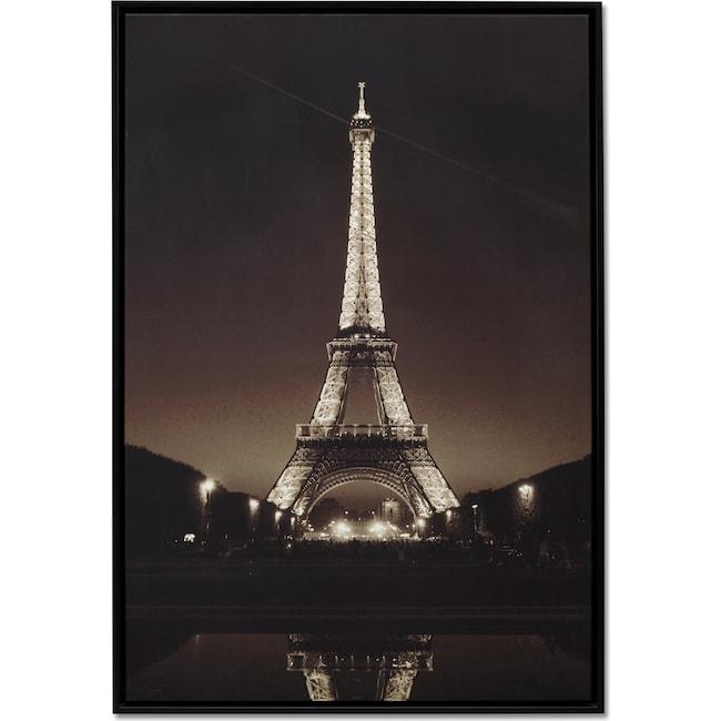 Home Accessories - Eiffel Tower Framed Print
