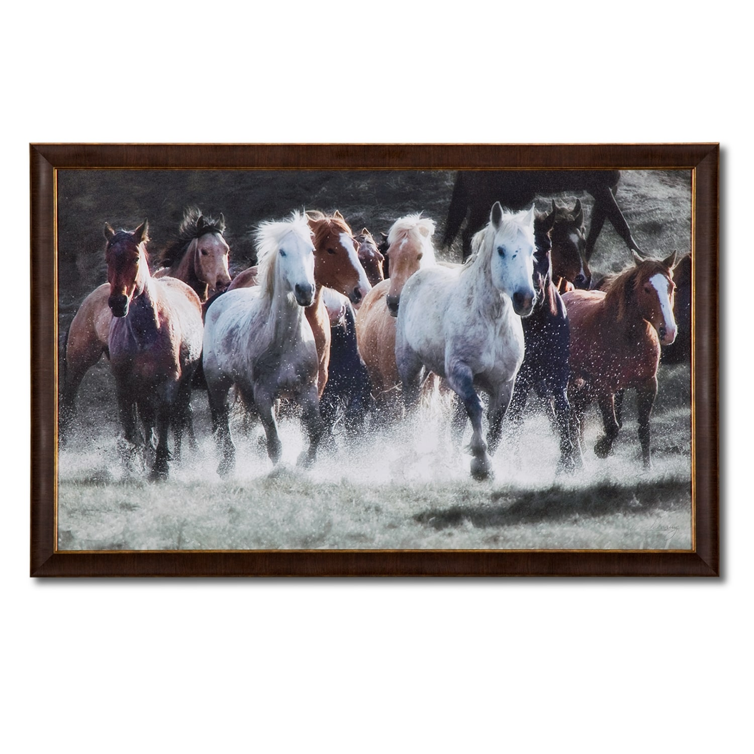 Home Accessories - Spirit Runners Framed Print