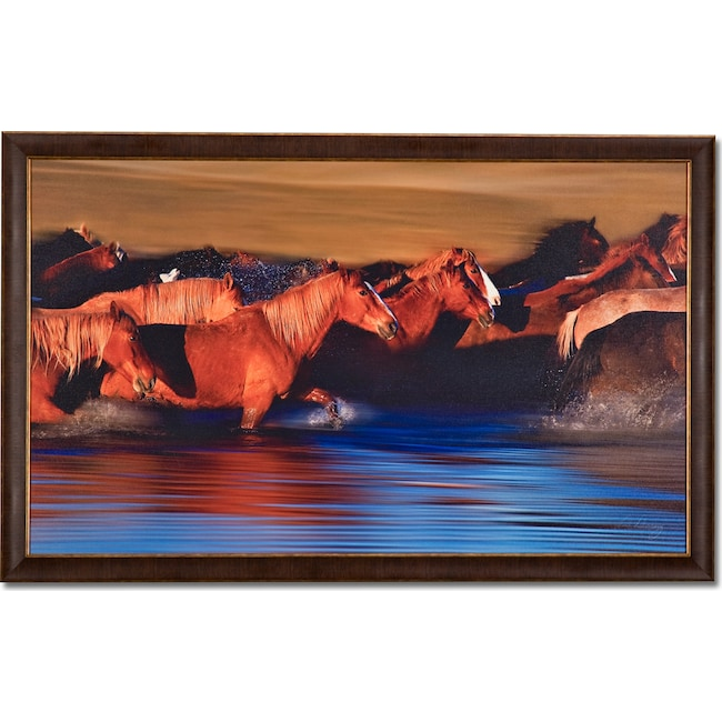 Home Accessories - Water Crossing Framed Print
