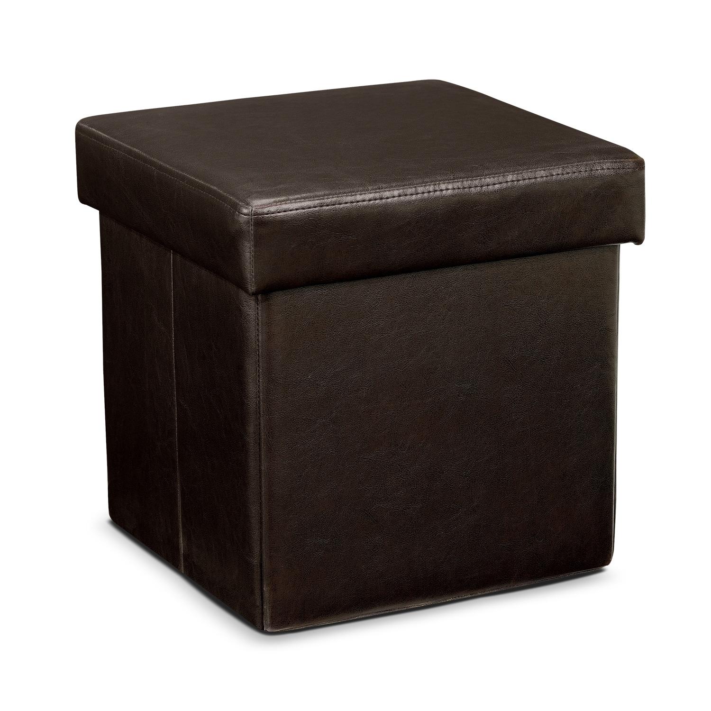 Leigh Folding Cube Ottoman