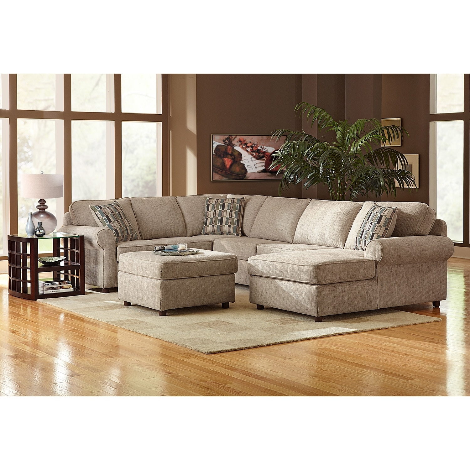 Monarch Ii Upholstery 3 Piece Sectional Value City Furniture