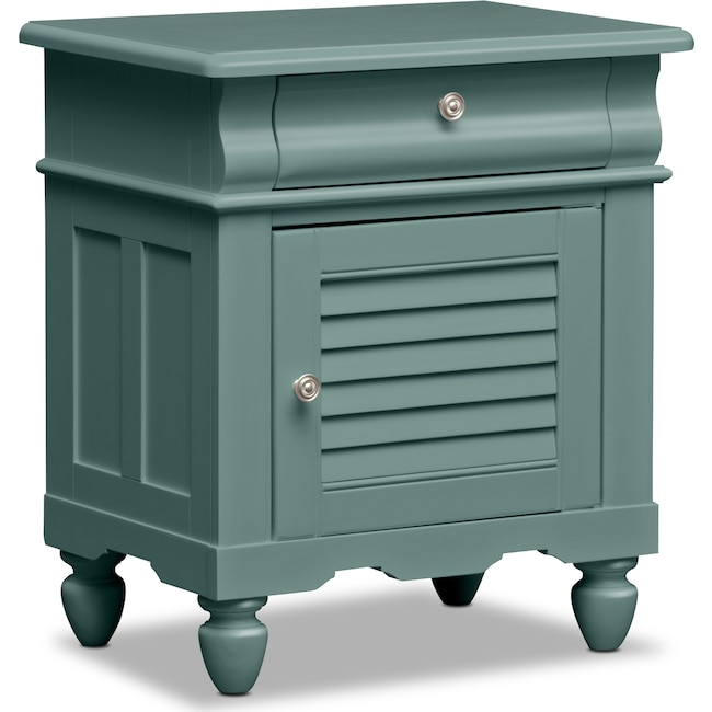 Kids Furniture - Seaside Nightstand - Blue