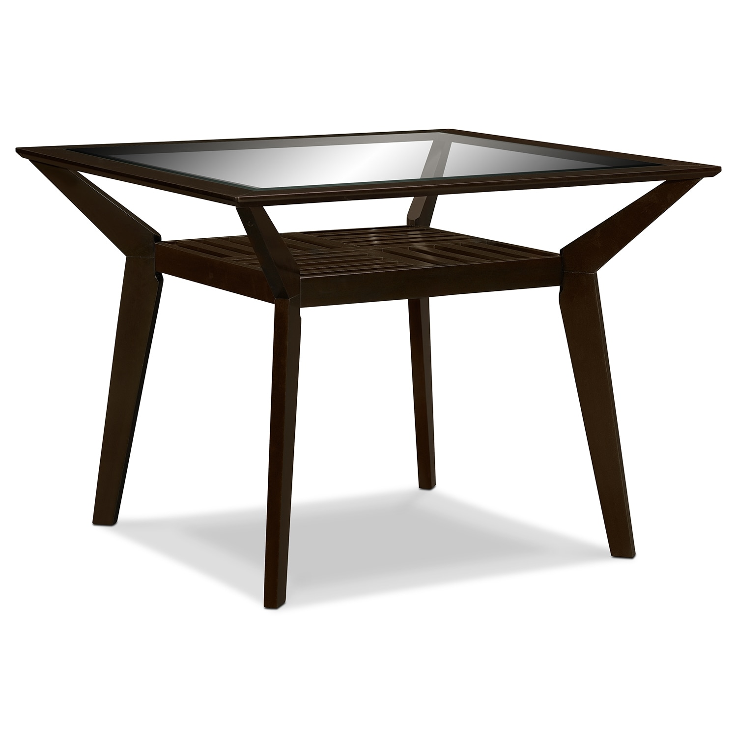 Mystic Counter-Height Dining Table - Merlot
