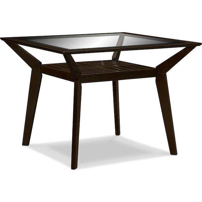 Dining Room Furniture - Mystic Counter-Height Dining Table - Merlot
