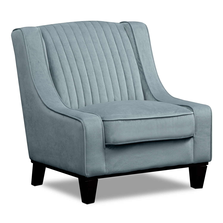 Living Room Furniture - Nouveau Accent Chair