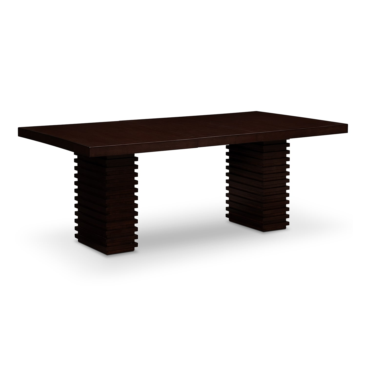 paragon dining table merlot by steve silver
