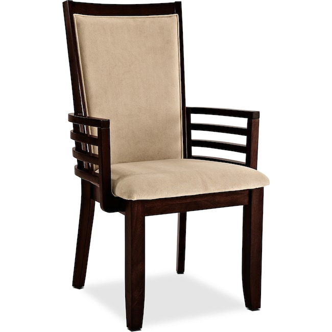 Dining Room Furniture - Paragon Arm Chair - Camel
