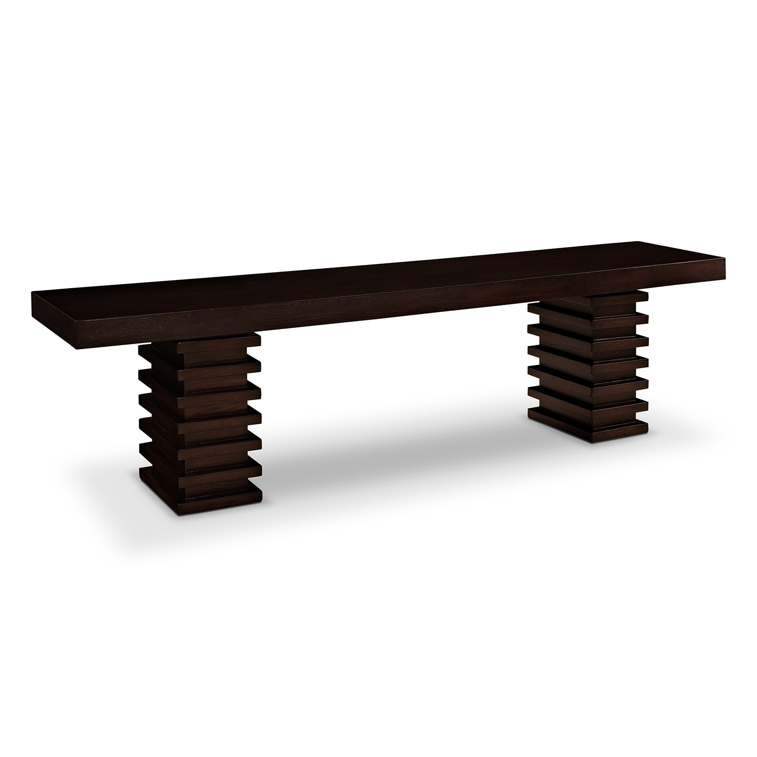 Accent and Occasional Furniture - Paragon Bench - Merlot