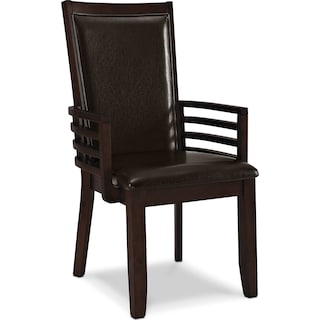 Paragon Arm Chair - Brown
