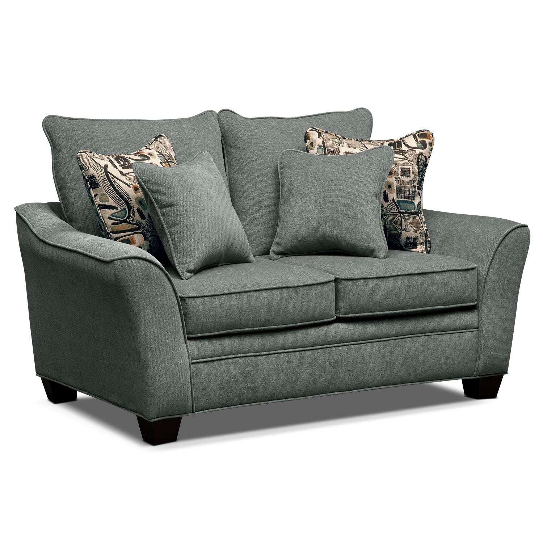 Living Room Furniture - Mandalay II Loveseat