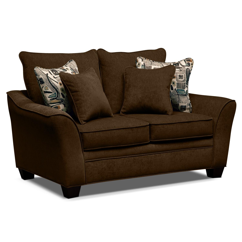 Living Room Furniture - Mandalay Loveseat