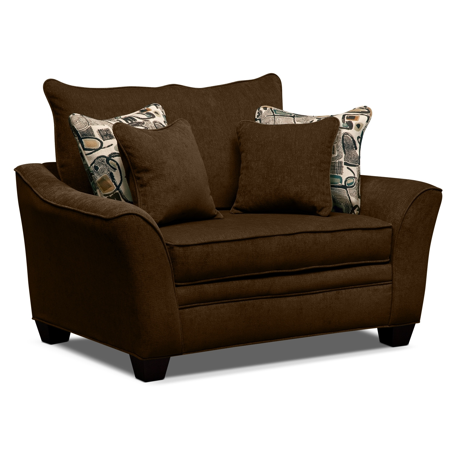 Living Room Furniture - Mandalay Chair and a Half