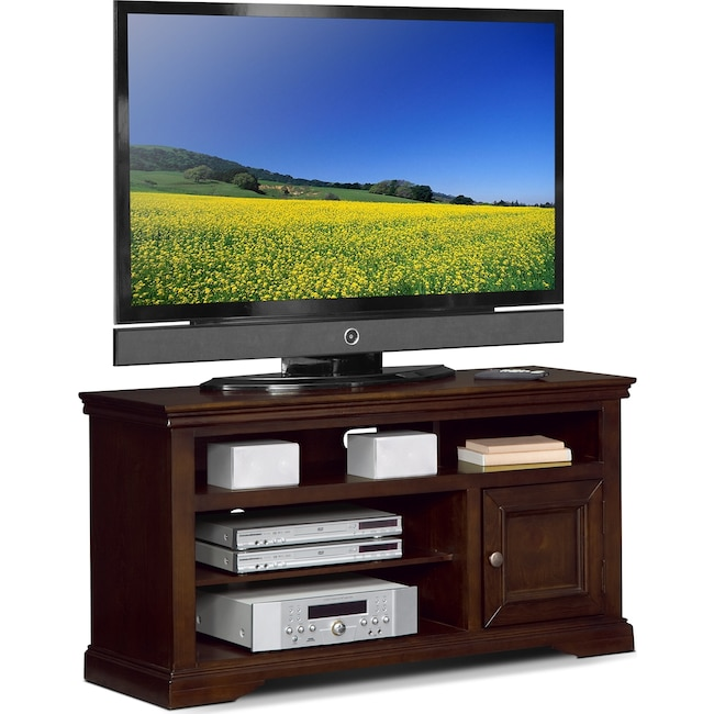 "Entertainment Furniture - Jenson 50"" TV Stand - Cherry"