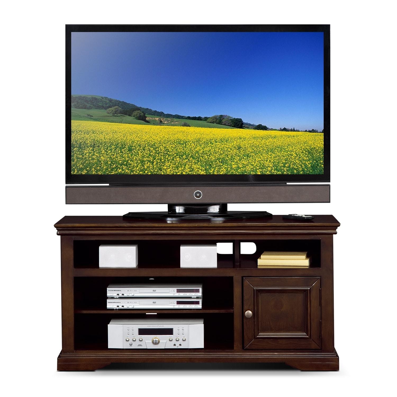 """Jenson 50 Tv Stand Pine: Jenson 50"""" TV Stand - Cherry"""