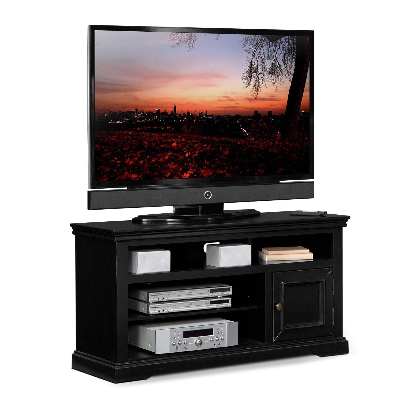 Jenson 50 Quot Tv Stand Black Value City Furniture