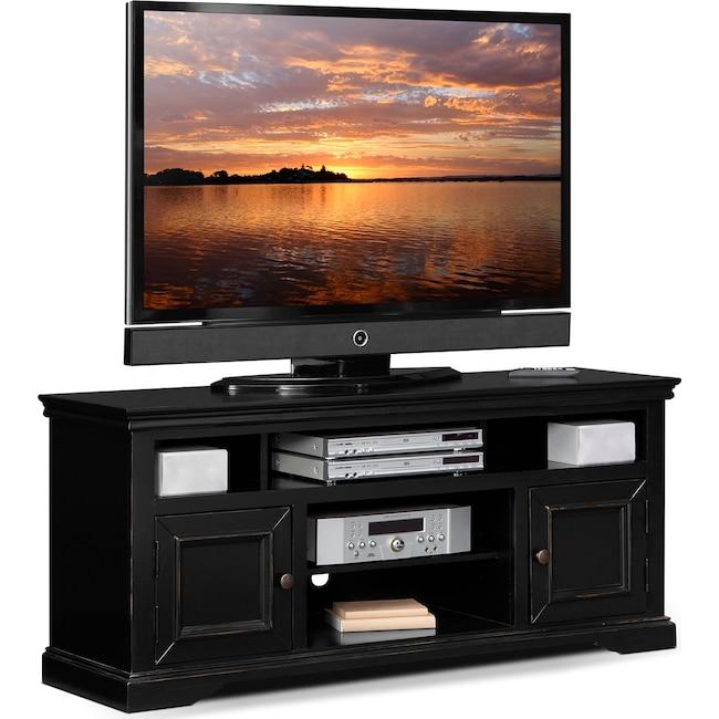 "Entertainment Furniture - Jenson 60"" TV Stand - Black"