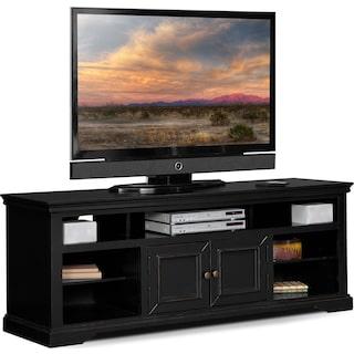 """Jenson 70"""" TV Stand - Black"""
