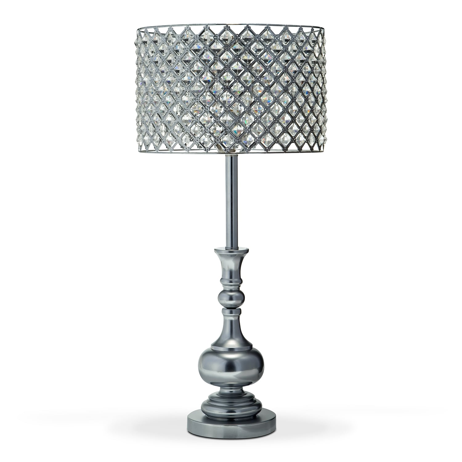 Glass Crystal Table Lamp