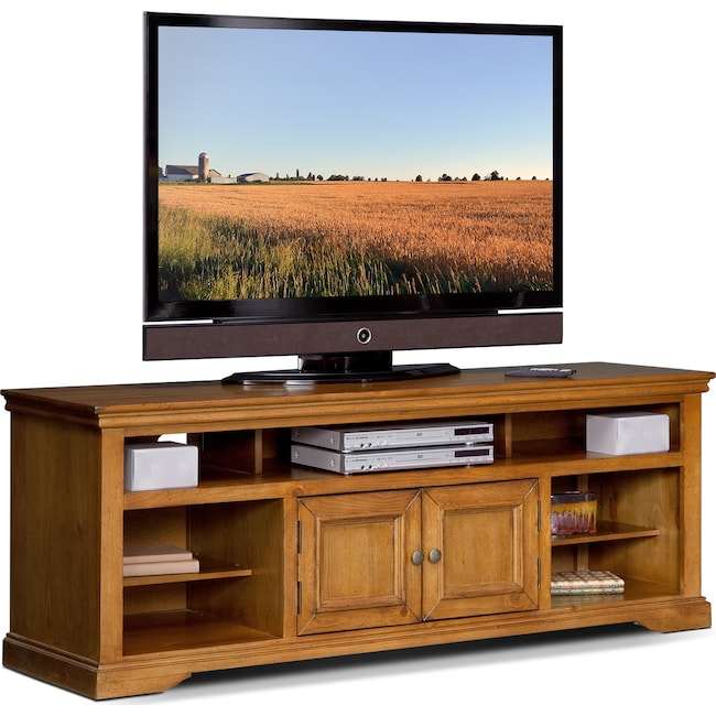 "Entertainment Furniture - Jenson 70"" TV Stand - Pine"