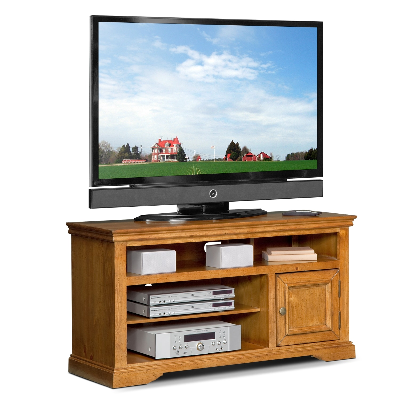 "Entertainment Furniture - Jenson 50"" TV Stand - Pine"