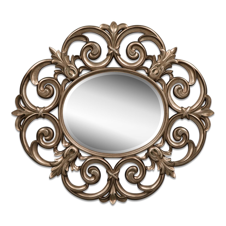 Home Accessories - Beatty Mirror - Bronze
