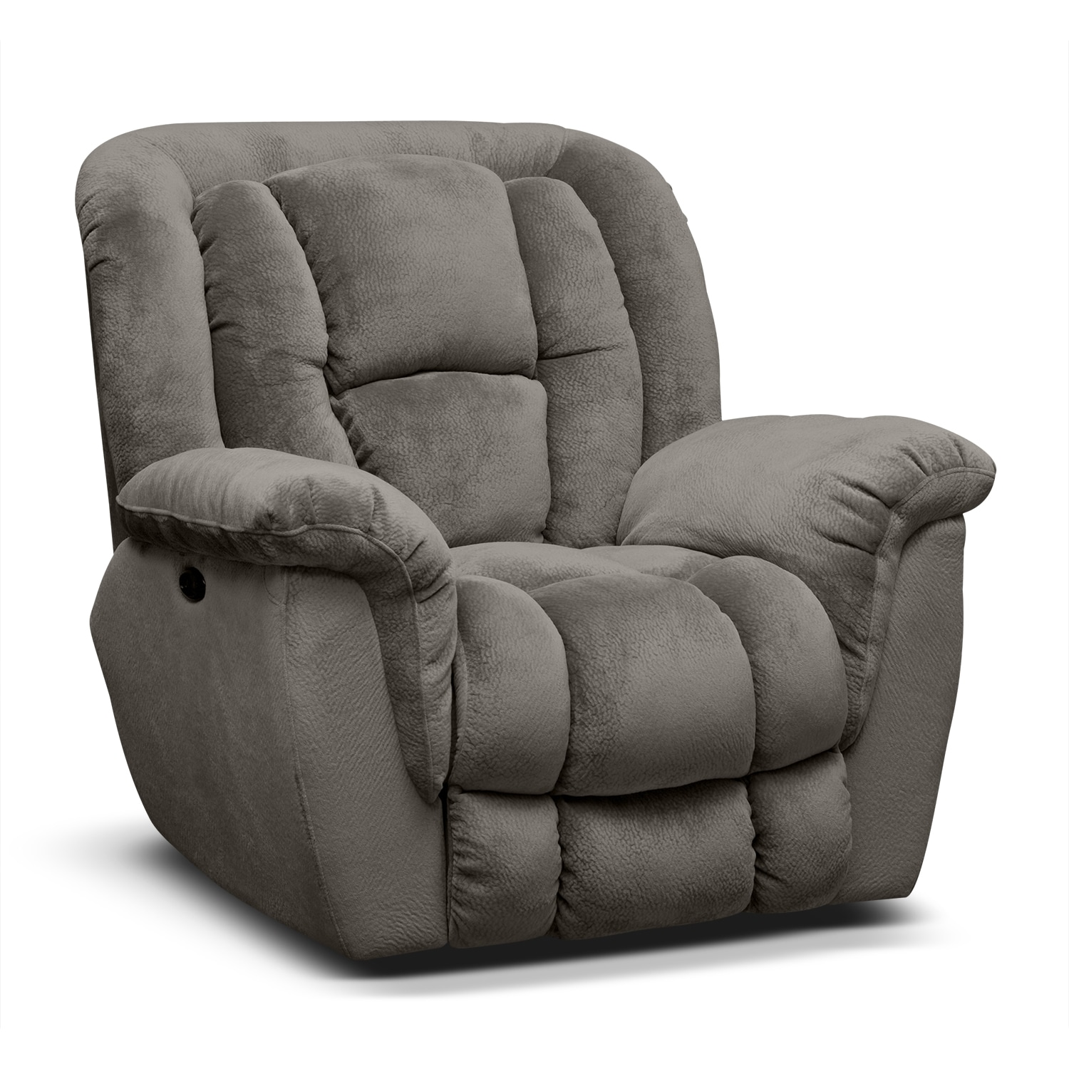Mammoth Power Recliner Gray