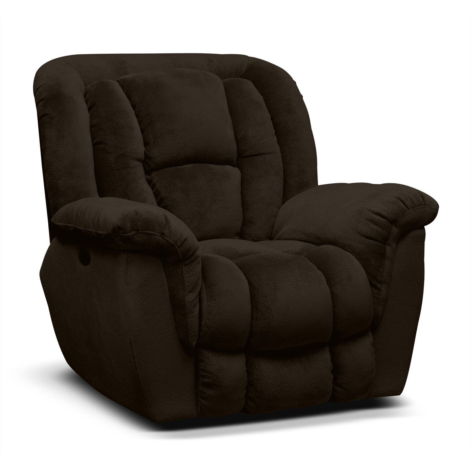 Mammoth Power Recliner - Chocolate