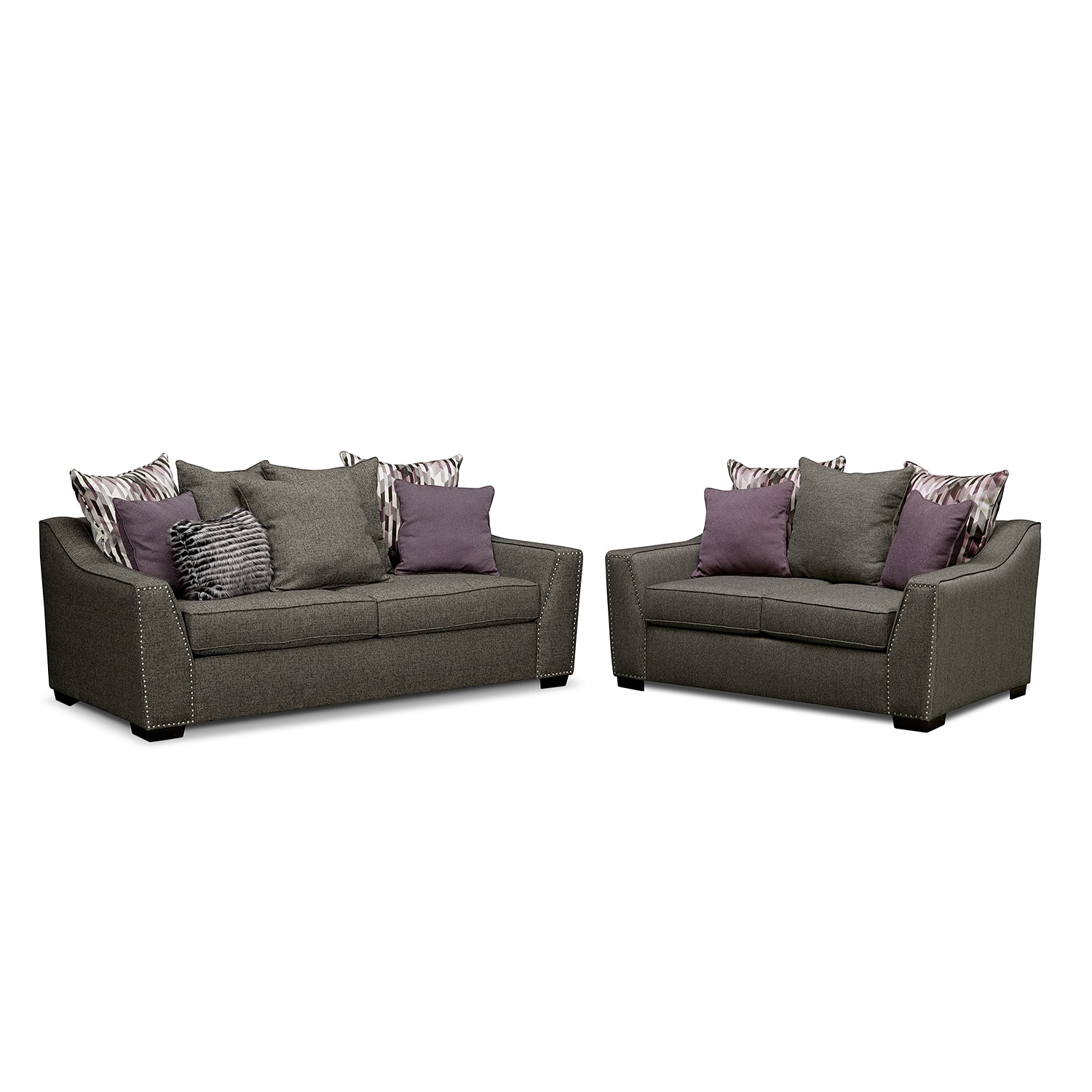 Living Room Furniture - Ritz 2 Pc. Living Room