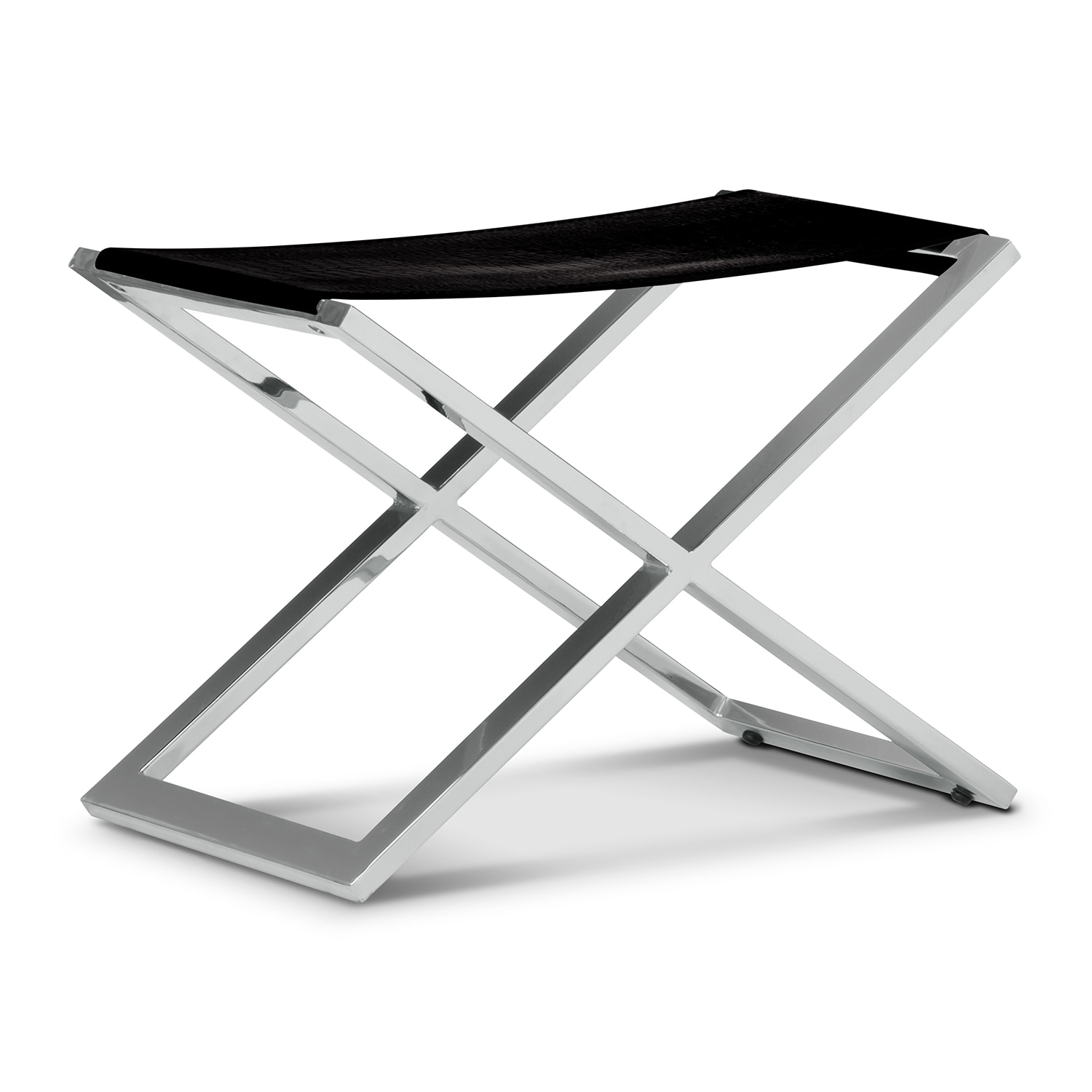 Accent and Occasional Furniture - Alex Bench - Black