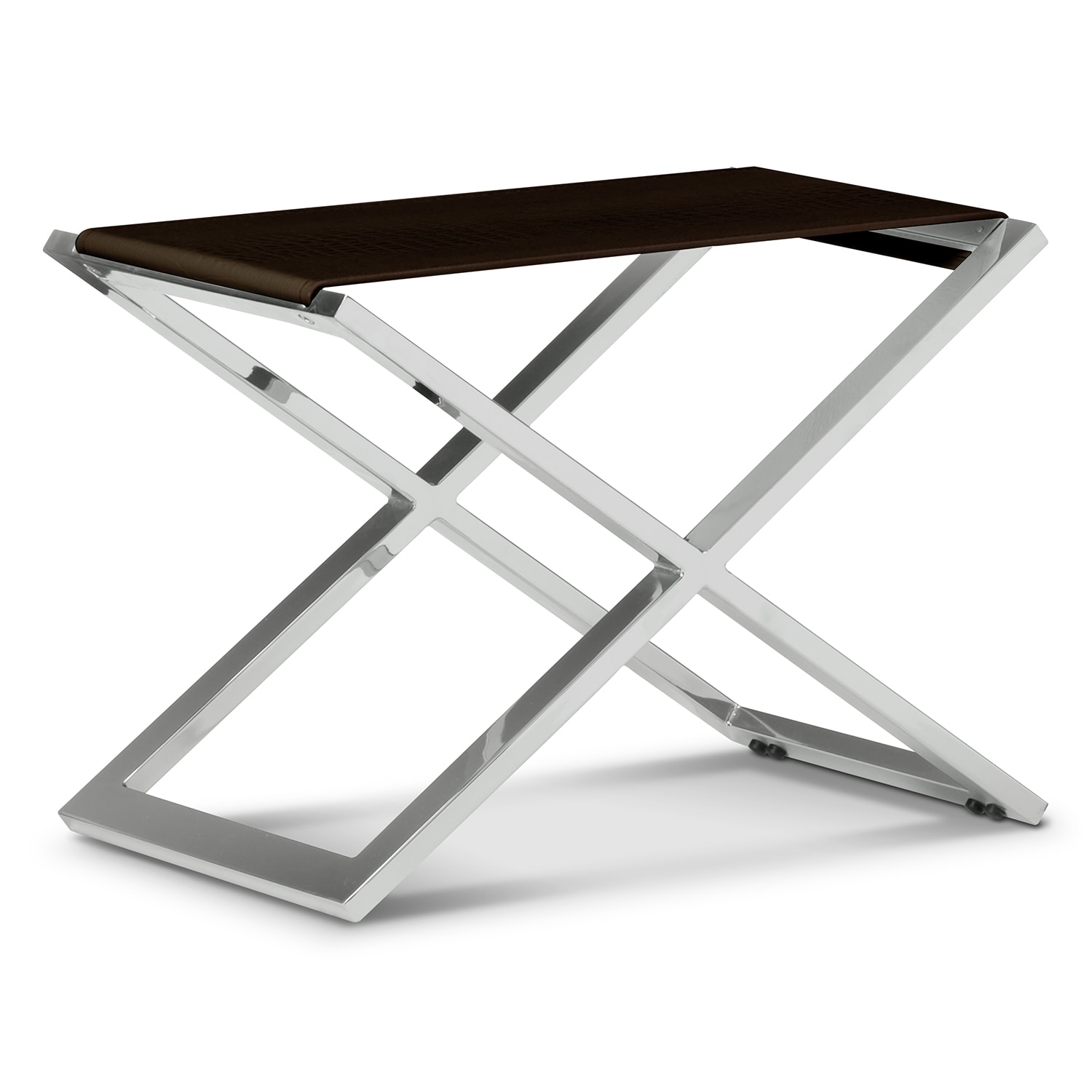 Accent and Occasional Furniture - Alex Bench - Brown