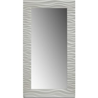 Ella Floor Mirror - White