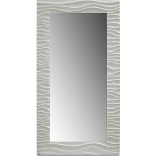 Ella Floor Mirror - White