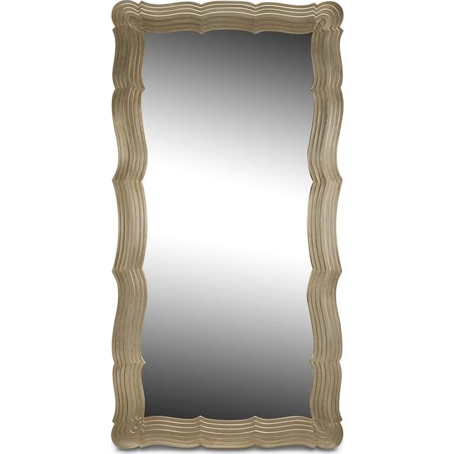 Home Accessories - Bella Antique Floor Mirror