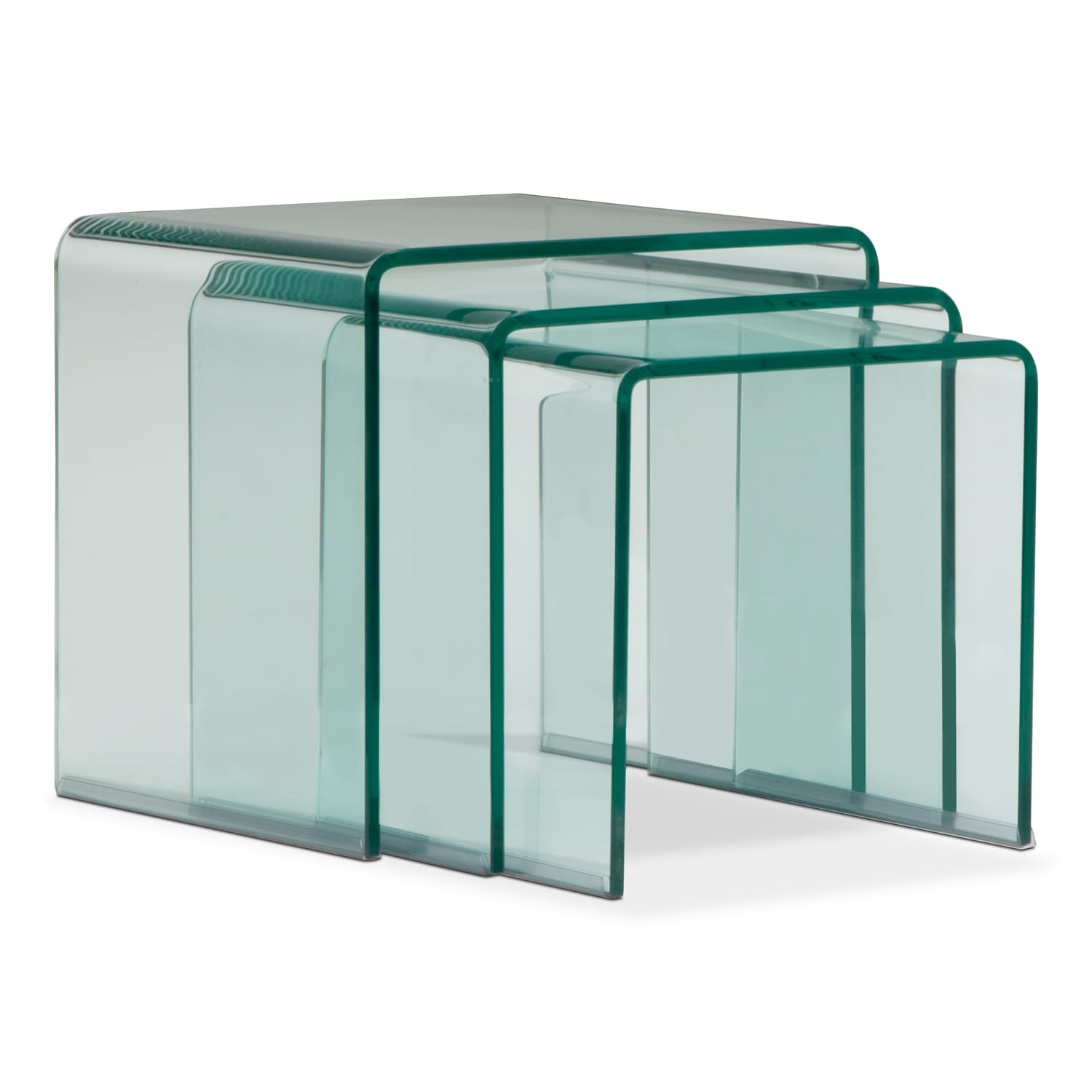 Accent and Occasional Furniture - Trio Nesting Tables
