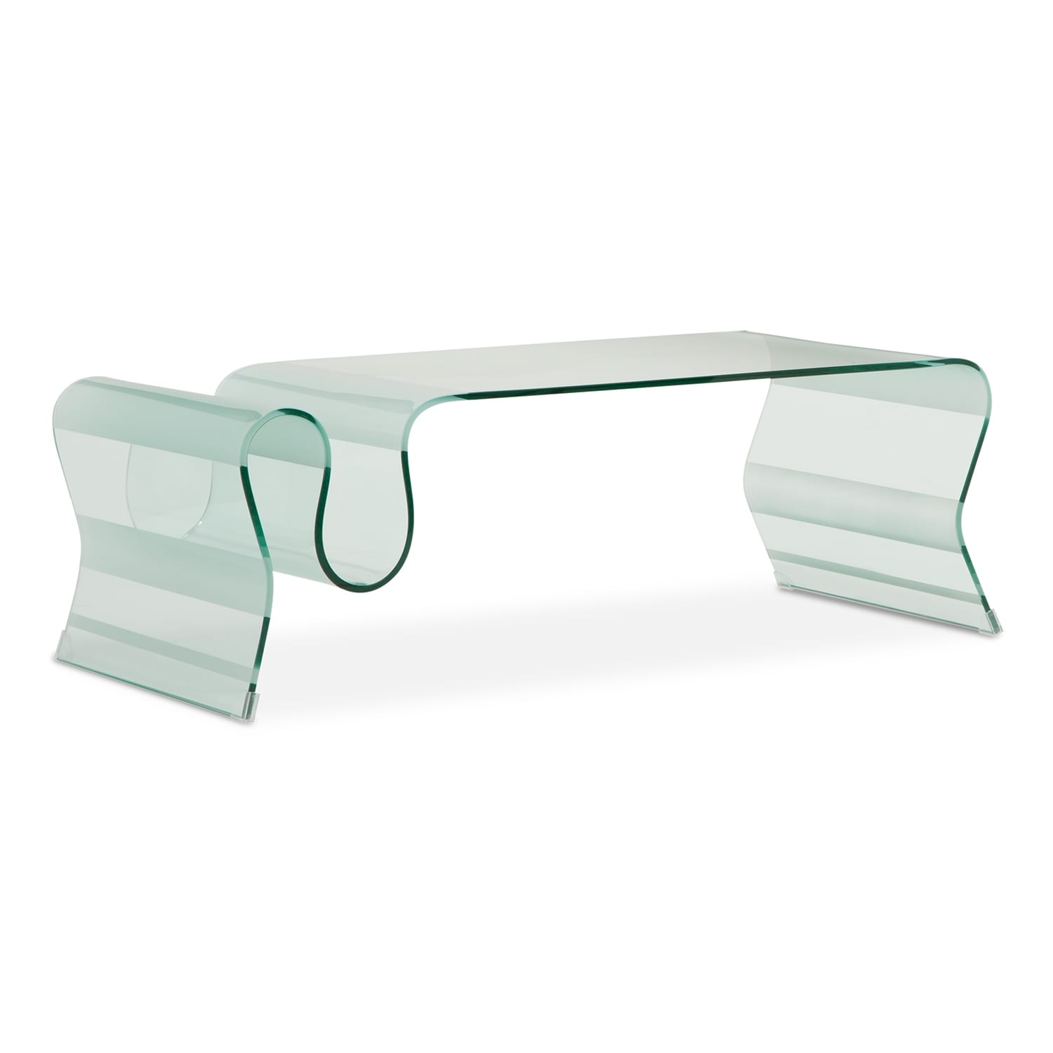breeze cocktail table - glass | value city furniture