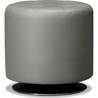 Dominic Swivel Ottoman - Gray