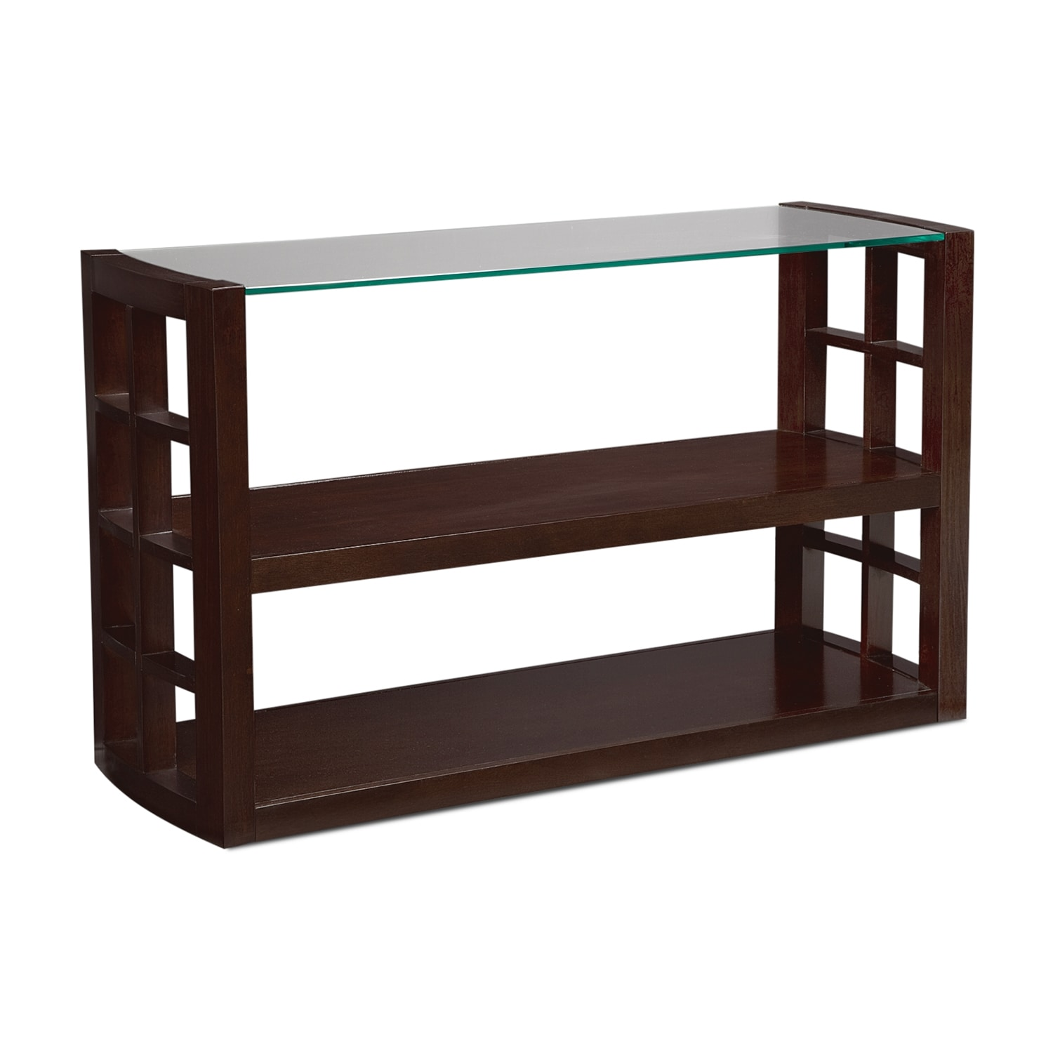 Daytona Sofa Table - Merlot