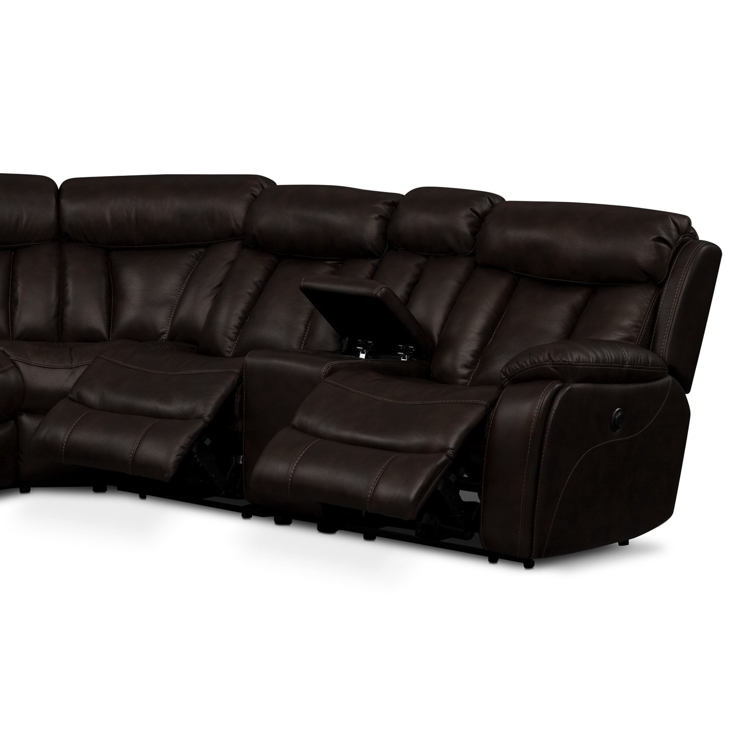 Diablo 7 Piece Power Reclining Sectional With Armless