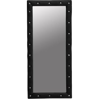 Valerie Floor Mirror - Black