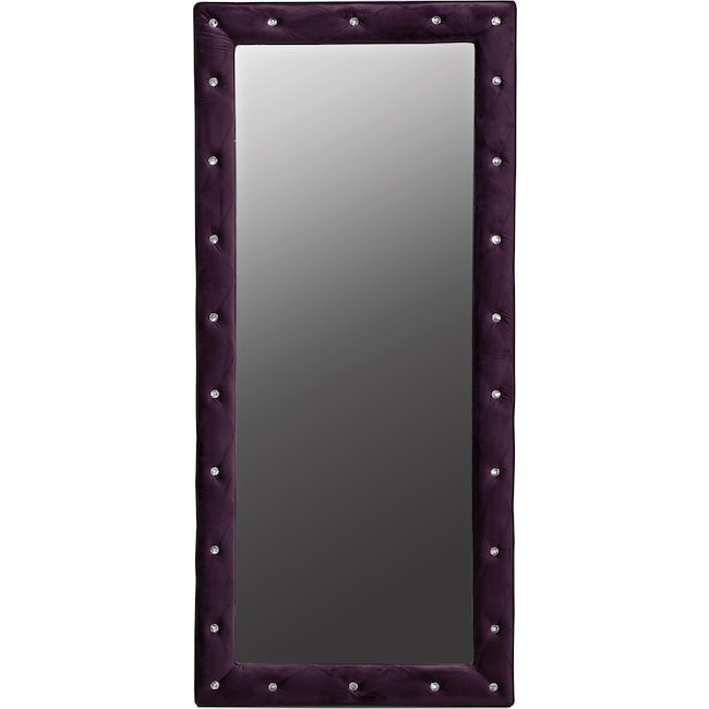 Kids Furniture - Valerie Floor Mirror - Purple