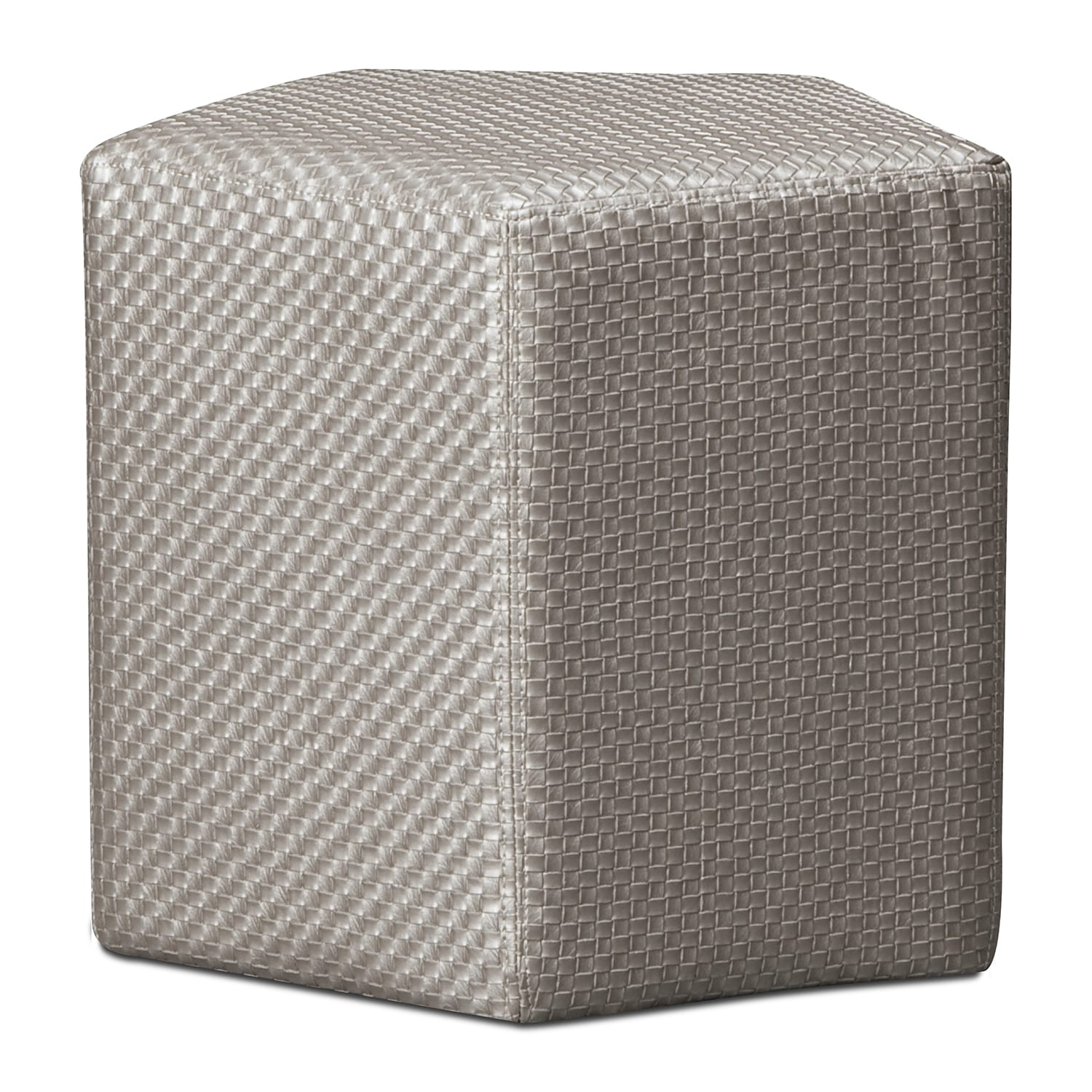 Accent and Occasional Furniture - Weave Ottoman